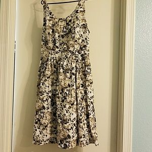 Vintage Inspired Rose Dress